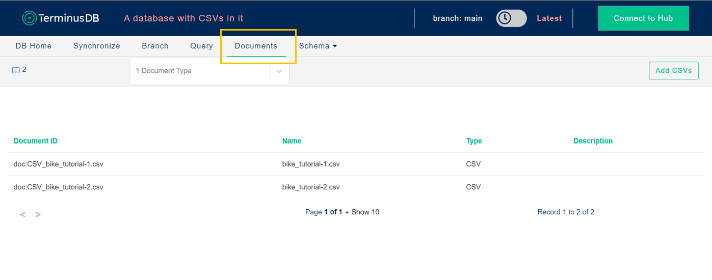 document page view